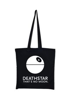 Deathstar Jutebeutel von Vintage-Massacre auf DaWanda.com