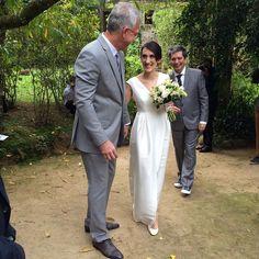 Pedro Bial se casa com a jornalista Maria Prata em pousada de Petrópolis