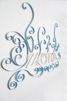 Text Art & Typography Summer Inspiration #typography