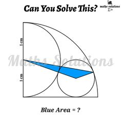Geometry Problems, Math Problems, Circle Geometry, Fun Brain, Maths Solutions, Math Formulas, Science, Problem And Solution, Math Classroom