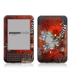 Wild Lilly Design Protective Decal Skin Sticker for Amazon Kindle Keyboard / Keyboard 3G (3rd Gen) E-Book Reader - High Gloss Coating by MyGift. $16.99. This scratch resistant skin sticker used High Gloss Coating which is the standard glossy finish and helps to protect your Kindle Keyboard / Keyboard 3G (3rd Generation - release in July 2010) E-Book Reader while making an impression. Self-adhesive plastic-coated skins cover the front and back surfaces of the Kindl...