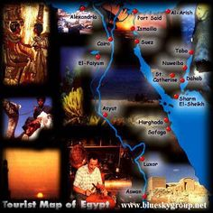 Tourist Map Of Egypt | Flickr - Photo Sharing!