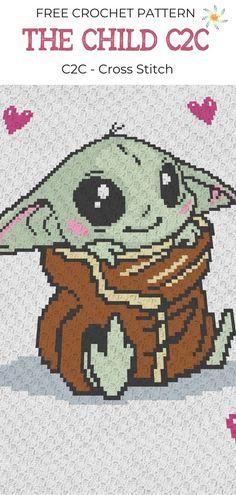 Crochet C2c Pattern, Pixel Crochet Blanket, Baby Afghan Crochet, Crochet Cross, Crochet Stitches, Free Crochet, Crochet Blankets, Baby Blankets, Free Pattern
