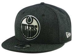 7e86969880f Edmonton Oilers New Era NHL Logo Grand 9FIFTY Snapback Cap Nhl Logos