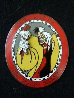 Disney-Pin-Villains-Shop-Cruella-De-Vil-Most-Devilish-Dognapper-101-Dalmatians
