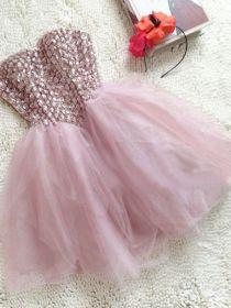 Amazing Sweet Ball Gown Sweetheart Mini Prom Dress