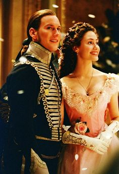 Patrick Wilson as Raoul and Emmy Rossum as Christine in The Phantom of the Opera (2004).
