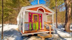 The Apple Blossom From The Jamaica Cottage Shop | Tiny House Listing