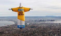 Fifa World Cup Hot Air Balloon of Jesus flies over Australia - Viral - Share! LIKE  http://fb.com/catholicnewsworld
