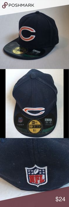 Shop Women s NFL Orange Blue size 6 Other at a discounted price at  Poshmark. Description  New with Sticker! Size 6 Official NFL Cap New Era. 297f4b5aa1e3