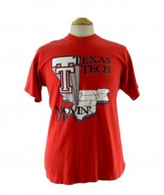 "Texas Tech T shirt #vintagefashion #vintage #retro #vintageclothing #90s #1990s #vintagetshirts <link rel=""canonical"" href=""http://www.blue17.co.uk/>"