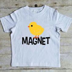 4f324e3de Chick Magnet Shirt, Funny Easter Shirt, Easter Shirt, Easter T Shirt for  Boys