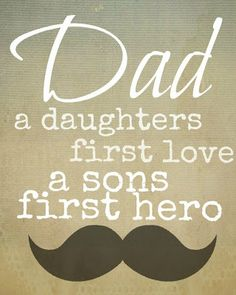 Fathers Day printable - Pinned on behalf of Pink Pad, the women's health mobile app with the built-in community