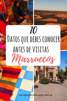 Marocco | Africa | Travel destination | Travel | Travel around the world | Marruecos | Consejos de viajes | Viajes y Destinos | Escapes por el Mundo |