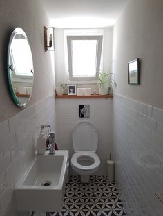 Check out this significant graphic and have a look at the here and now help and advice on Tiny Bathroom Renovation Small Toilet Room, Toilet Room Decor, Small Bathroom Decor, Bathroom Interior, Bathroom Renovations, Toilet Design, Bathroom Decor, Downstairs Toilet, Small Bathroom Makeover