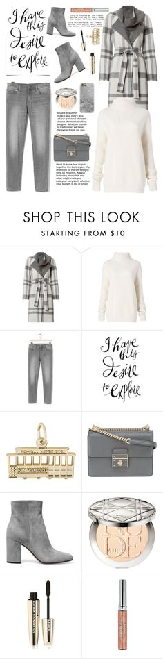 """San Francisco Travel Outfit"" by glamorous09 ❤ liked on Polyvore featuring Exclusive for Intermix, Diane Von Furstenberg, Banana Republic, Aventura, Rembrandt Charms, Dolce&Gabbana, Gianvito Rossi, Christian Dior, L'Oréal Paris and Sisley"
