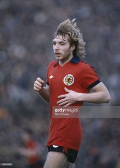 Steve Archibald of Scotland during the Israel v Scotland match played in Tel Aviv Israel on the...