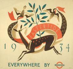 Eastertide 1934 - Dora M Batty (1934)