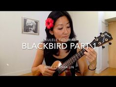 Blackbird Part 1 // Beatles Ukulele Tutorial
