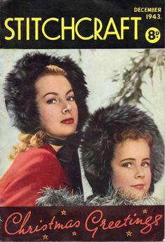 Stitchcraft Dec 1943 free scan vintage knitting patterns
