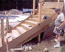 Curved Deck Stairs - Staircases, Framing, Design - Professional Deck Builder Magazine
