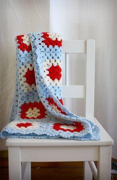 Manta crochet súper abrigada - Crochet - Tejidos de Punto - 515368