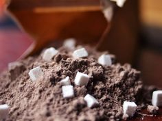 Look, this isn't fancy drinking chocolate, liquid chocolate, or even hot chocolate. This is cocoa. Hot cocoa. It's light enough and not too sweet, making it highly drinkable even with a rich holiday breakfast.
