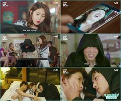 hwanbg gi after drunk slept with ra won - My Shy Boss kiss korean drama