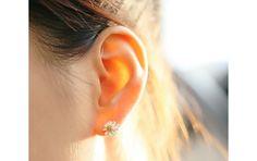 Ohrstecker - Schmuck Gänseblümchen Ohrstecker silber Ohrringe - ein Designerstück von TO_Design bei DaWanda
