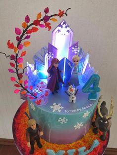 Frozen Party Cake, Frozen Themed Birthday Cake, Peppa Pig Birthday Cake, Disney Frozen Cake, Frozen Themed Birthday Party, Disney Frozen Birthday, Frozen 2, Baby Birthday Cakes, Candy Bar Frozen