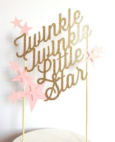 Twinkle twinkle little star Custom baby shower or by ModernBlooms