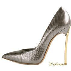 Women Stilettos Sexy High Heels Iron Heel 12cm Single Shoes  http://www.aliexpress.com/item/Fashion-Ladies-Shoes-Fish-Pattern-Women-Stilettos-Sexy-High-Heels-Iron-Heel-12cm-Single-Shoes-Pointed/1981997171.html