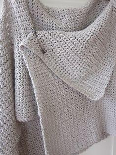 crochet vest. love this