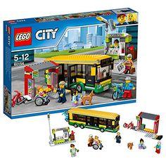 LEGO – 60154 – City – Jeu de Construction – La gare routière: Découverte de la ville à bord du bus de LEGO City ! Âge : 5 - 12 ans Inclut…