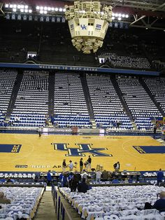 Rupp Arena Home of the 7-Time National Champion Kentucky Wildcats