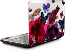 3. Reds, blues and purples? Some of my favorite colors. All together on the beautiful HP Butterfly Blossom Special Edition Notebook PC #momselect #backtoschool