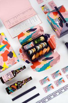 39 ideas for design food packaging restaurant branding Design Typography, Graphic Design Branding, Menu Design, Stationery Design, Food Design, Design Design, Food Branding, Food Packaging Design, Packaging Design Inspiration