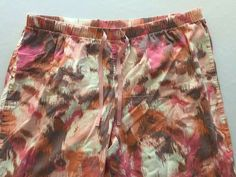 Size XL Life Is Good Sleep Pajama Lounge Pants Womens Peach Pink Brown Print PJ #LifeisGood #LoungePantsSleepShorts #Everyday Cute Clothes For Women, Pants For Women, Good Sleep, Lounge Pants, Pink Brown, Pj, Patterned Shorts, Life Is Good, Cute Outfits