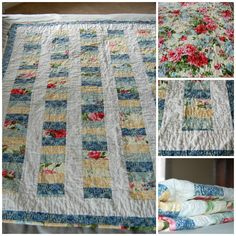 lap sized quilt , gift for a special aunt , stacked coin. back is solid floral Photo Editor, Aunt, It Is Finished, Boards, Quilts, Blanket, Sewing, Floral, Planks