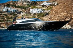 """Cape 4  Charters """"m/y George P""""  #yacht #charter #Greece"""