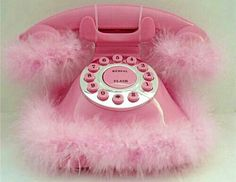 PINK Fuzzy Phone...