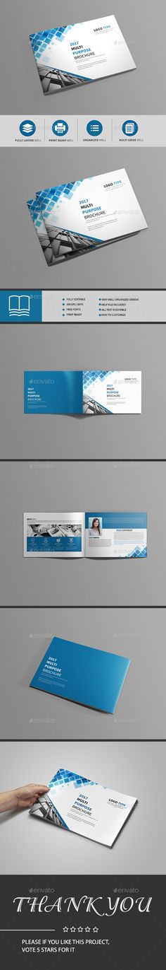 Corporate Trifold Brochure Template Design Download Http - Bi fold brochure template indesign