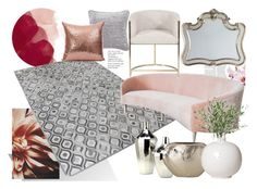 """""""Modern Romance"""" by immar on Polyvore featuring interior, interiors, interior design, home, home decor, interior decorating, Anthropologie, Holly's House, NDI and Hooker Furniture"""