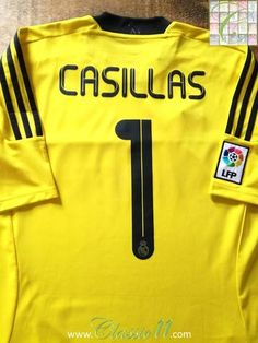 b0b03c2d0 2011 12 Real Madrid Goalkeeper La Liga Football Shirt (L)  BNWT