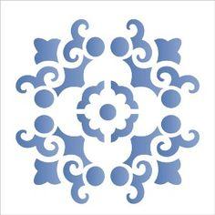 Estencil-para-Pintura-Simples-14x14-Mandala-Arabesco---OPA1738---Opa