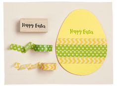 Die Cut Egg Decorations are an egg-cellent way to craft this holiday!
