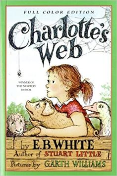 Encore -- Charlotte's web / E.B. pictures by Garth Williams ; watercolors of Garth Williams artwork by Rosemary Wells. Up Book, This Is A Book, I Love Books, Great Books, Books To Read, Charlotte's Web Book, Garth Williams, A Wrinkle In Time, Kindle Unlimited