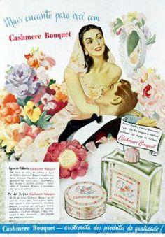 água da Colonia Cashemere Bouquet