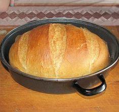 """Olcsó házi kenyér """"öreg"""" tésztából - Blikk Rúzs Bread, Recipes, Food, Bread Baking, Brot, Essen, Baking, Meals, Eten"""