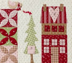 Mistletoe Lane Quilt by Anne Sutton of Bunny Hill Designs - Fat Quarter Shop